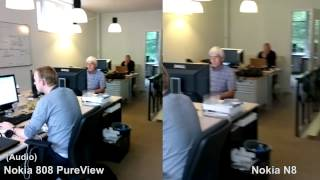 Nokia 808 PureView vs Nokia N8 / Testvideo (BesteProduct)