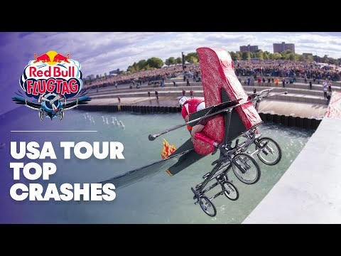 Top 10 Crashes - Red Bull Flugtag 2013 USA