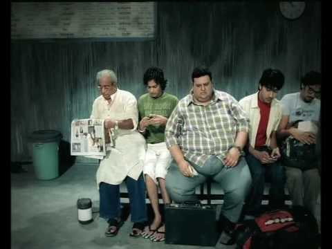 Vodafone tvc advertisement - Waiting room