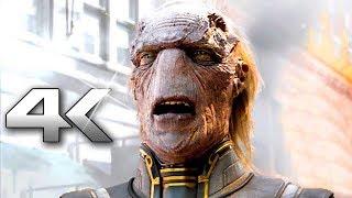 AVENGERS INFINITY WAR  Avengers VS Thanos  Fight (4K ULTRA HD) Poster
