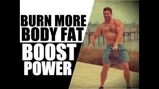 "Single Kettlebell ""Cardio"" Workout [Build Power & Burn Fat!] | Chandler Marchman"