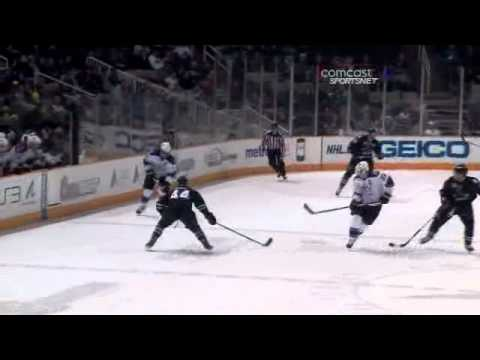 Anze Kopitar's Incredible Pass For Dustin Brown Goal (video)