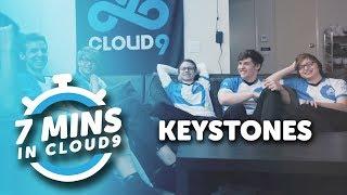 """""""Keystones""""   7 Minutes in Cloud9"""