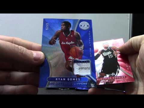 Kyle's 2012/13 Totally Certified Basketball 3 Box Break