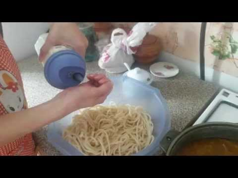Лапша домашняя рецепт лагман в домашних условиях 97