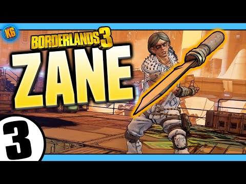 Borderlands 3 | Zane | Road to Mayhem Day #3 - Funny Moments & Legendary Loot