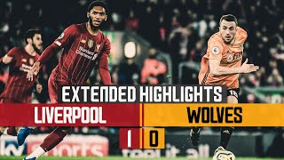 Neto denied first Premier League goal | Liverpool 1-0 Wolves | Extended Highlights