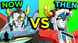 Voltron - Then And Now - 80's vs 2016 Series (Tooned Up S3 E1)