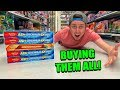 BUYING EVERY GRENINJA POKEMON CARD BOX I TOUCH AT WALMART! Opening & Hidden Finds
