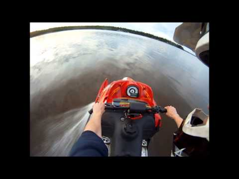 FAIL! Arctic cat f6 crash on water gopro