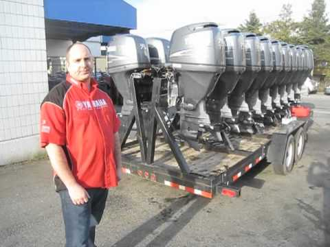 G a checkpoint presents used yamaha outboard motors youtube for Yamaha outboard parts house