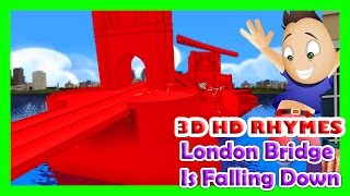 London Bridge Is Falling Down - Nursery Rhymes with Full Lyrics