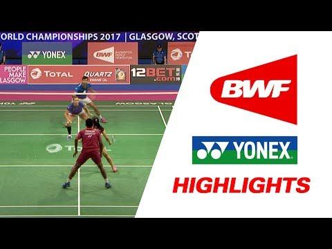 Total Bwf World Championships 2017 Badminton Day 1 Highlights