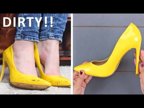 INCREDIBLE SHOE HACKS THAT WILL CHANGE YOUR LIFE | DIY Shoe Hacks and More by Blossom