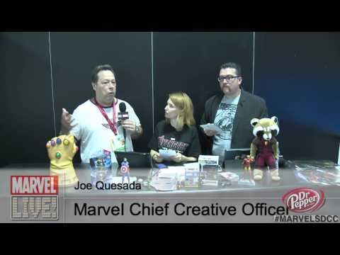 Joe Quesada at SDCC 2014 on How Marvel Ideas Are Created