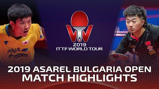 Tomokazu Harimoto vs Zhao Zihao | 2019 ITTF Bulgaria Open Highlights (Final)