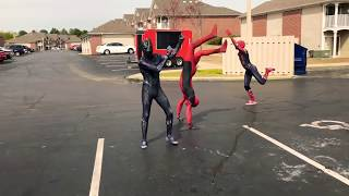 """""""Ghetto Avengers"""" Rick Astley - Never Gonna Give You Up (Dance Video)"""