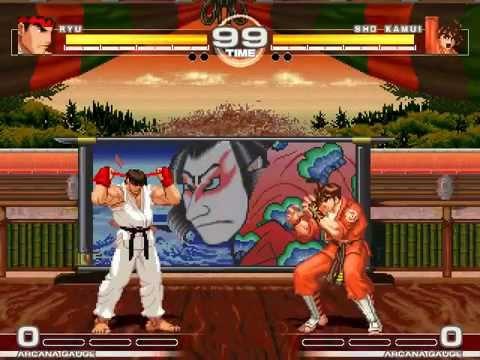 MUGEN : Japans Finest Ryu vs Sho Kamui