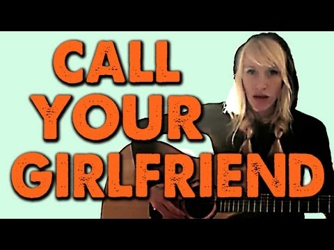 CALL YOUR GIRLFRIEND - Sarah Blackwood (Robyn) Music Videos