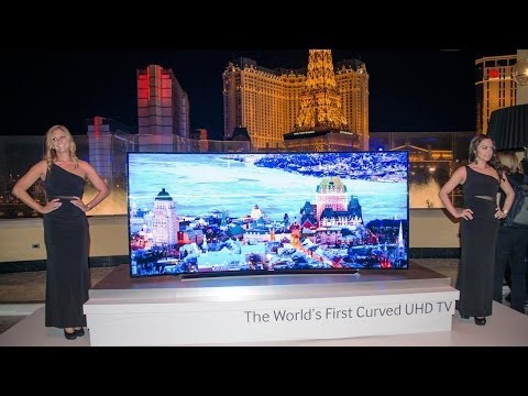 Samsung Curved UHD TV - Galaxy Note & Tab Pro - NX30 :  CES 2014