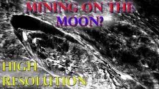 Moon - MINING on the moon ? - HIGH resolution