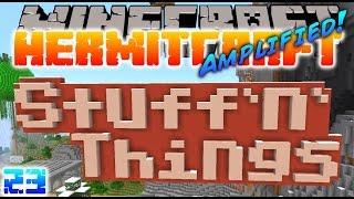Minecraft Hermitcraft - SECRET STUFF N' THINGS!! ( Let's Play S3E23 )