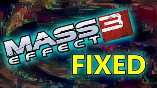 Mass Effect 3's Ending Fixed