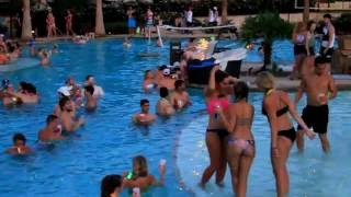 The Cottages Of College Station | Neon Glow Pool Party | Boss Visuals