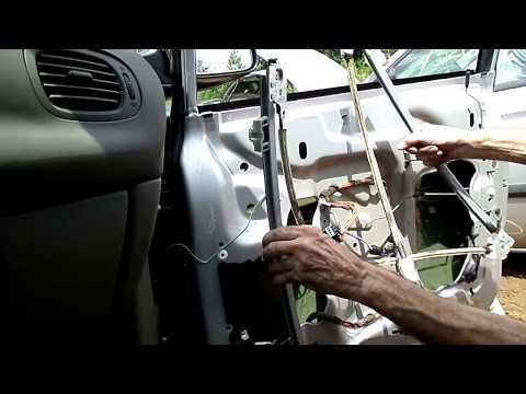 How to replace a power window regulator in a dodge grand for 2001 dodge grand caravan power window regulator