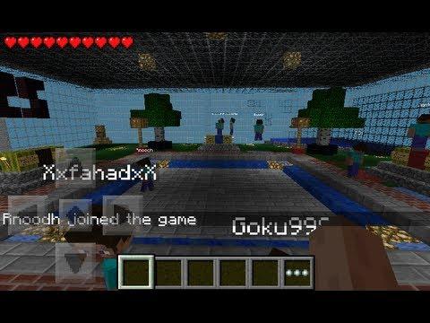 Como entrar Juegos del Hambre Minecraft PE Server