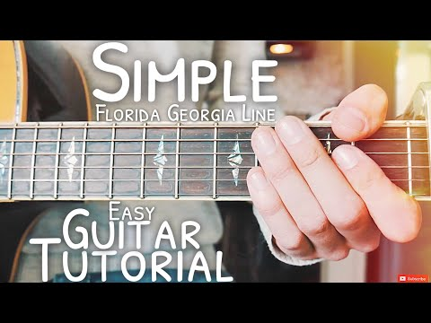 Simple Florida Georgia Line Guitar Lesson for Beginners // Simple Guitar // Lesson #504