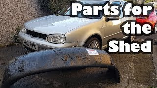 New Bumper and Bonnet for Project Shed - Volkswagen Golf project