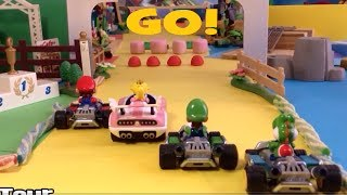 MARIO KART 8 Deluxe Stop Motion Animation