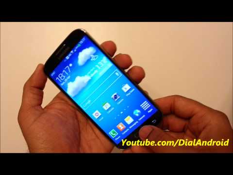 Galaxy S4 Secret screen capture trick - Hardware key combination