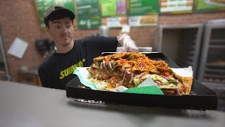 The Most Disgusting Subway Sandwich Ever Made