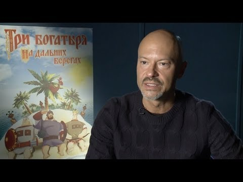Три богатыря на дальних берегах - Федор Бондарчук (интервью)