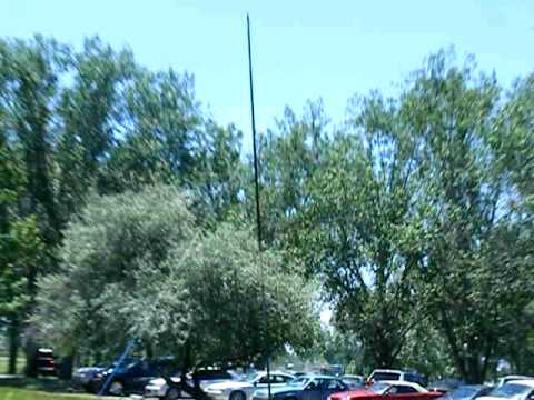 the ham radio field day at eagle island state park antenna pt 1 idaho