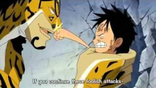 One Piece - Chibi Luffy Vs Luchi
