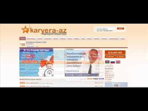ish,is elanlari,axtariram hamısı,www.karyera-az.com