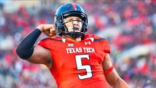 The Texas Gunslinger || Texas Tech QB Patrick Mahomes 2016 Highlights ᴴᴰ