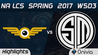 FLY vs TSM Highlights Game 1 NA LCS Spring 2017 W5D3 FlyQuest vs Team Solo Mid