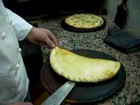 Receta de una pizza Calzone