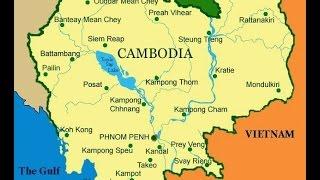 Move To Cambodia: The Geography & Layout Of Cambodia @nojokehoward