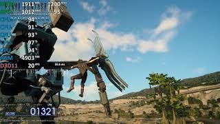 *FFXV Day* Final Fantasy XV AMD A10-9700 R7 iGPU Benchmark Test
