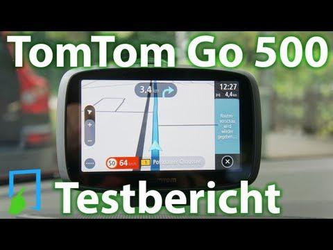 TomTom Go 500 Test deutsch