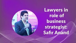 Lawyers in role of business strategist