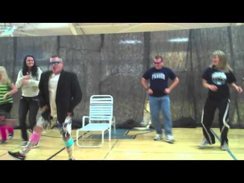 media teacher lip sync contest hough high school