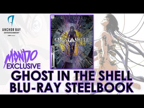 Ghost In The Shell (1995) Mondo X Steelbook Series #018 | Blu-ray | Mamoru Oshii | Unboxing