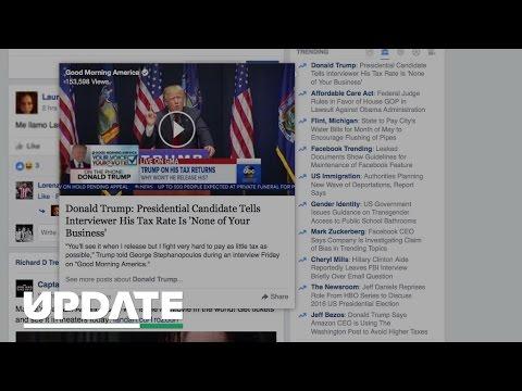 Facebook Trending Topics accused of bias, Zuckerberg speaks out (CNET Update)