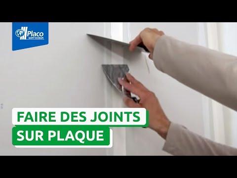 Finitions placo faire des joints avec placo youtube - Enduit de finition placo ...